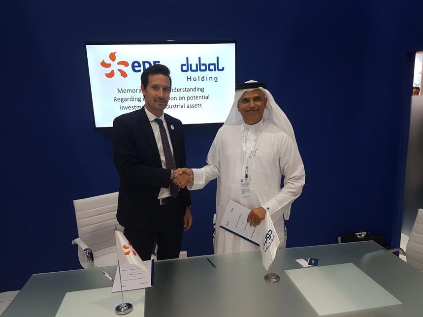 Dubal Holding, EDF Group ink MoU to explore power plant development