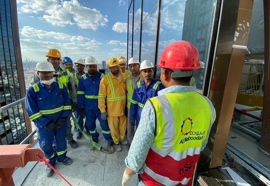 ANCG deployed  2,600 workers at Mankhool mixed-use project during the peak construction period [Image: ANCG]