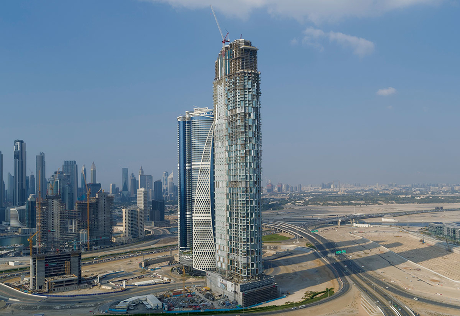 The 75-storey SLS Dubai Hotel & Residences is being developed by WOW RED.