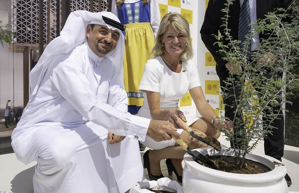 Swedish pavilion at Expo 2020 Dubai