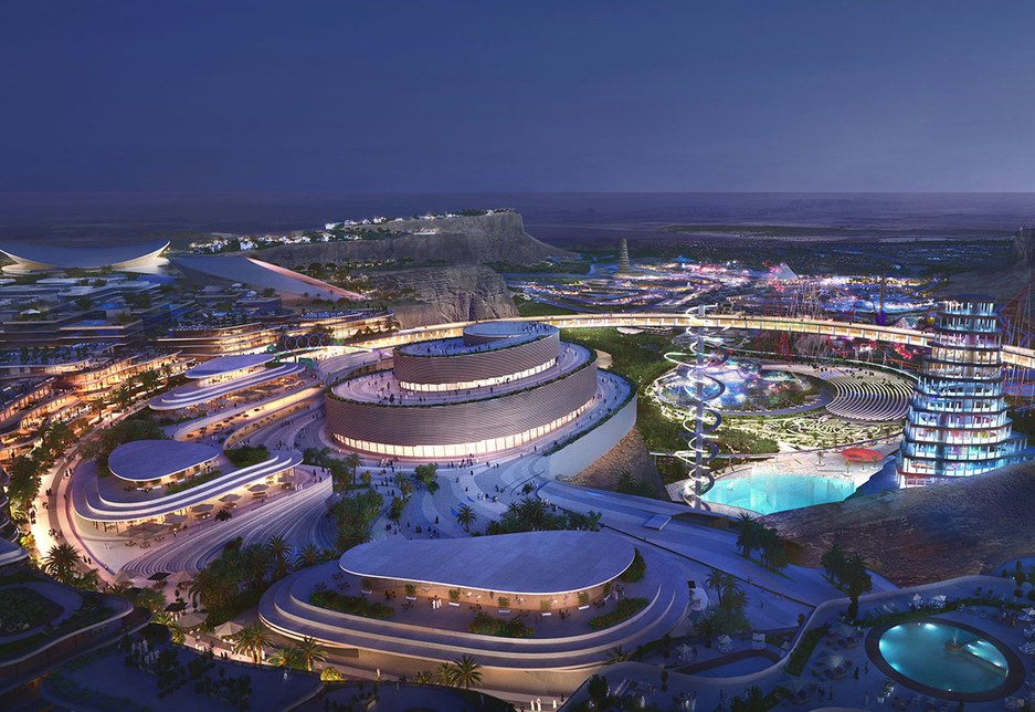 """The 334km2 Qiddiya gigaproject """"will be the largest of its kind in the world in terms of entertainment and games"""" [image: Supplied]"""