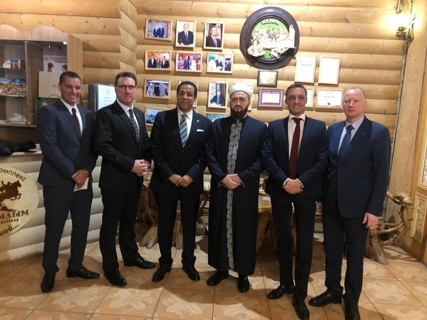 TIME Hotels' CEO meets with Mufti of Tatarstan, Kamil Hazrat Samigullin