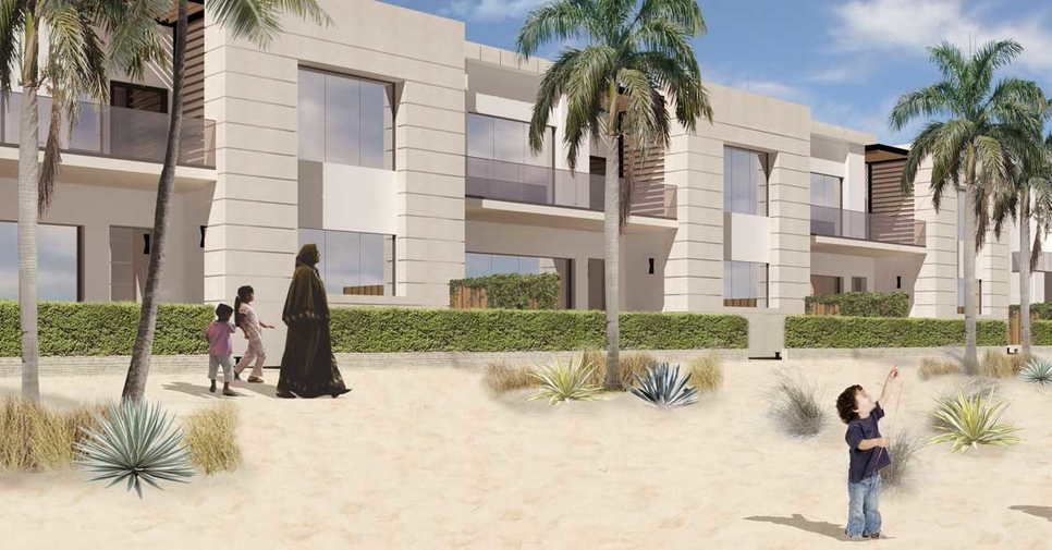 Al Seef is divided between Pearl Villas, Breeze Villas, Coral Villas, Seashell Villas, and Garden Villas.