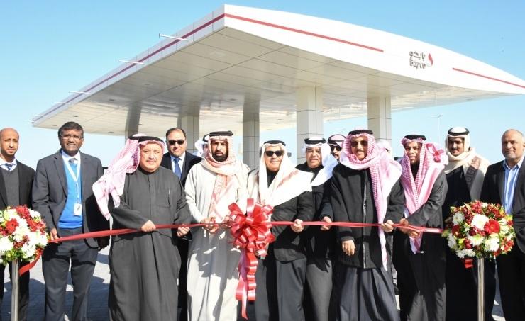 Bahrain's NOGA chief opens 5,800m2 Al Busaiteen fuel station