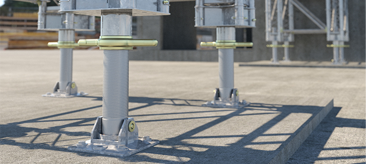 RMD Kwikform launches Tetrashor, a 400kN modular propping system