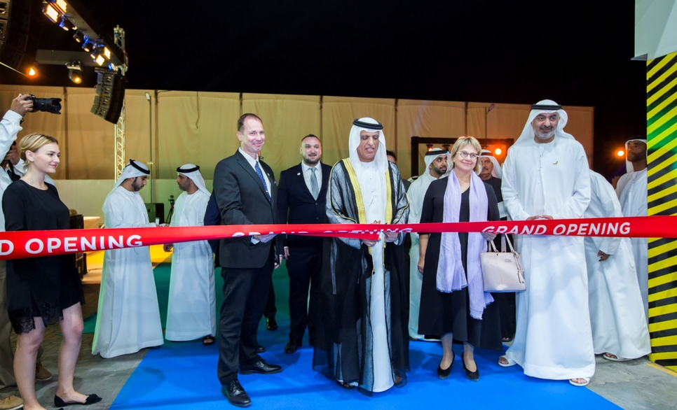 HH Sheikh Saud bin Saqr Al Qasimi, Supreme Council Member and Ruler of Ras Al Khaimah inaugurated the new premises of Peikko Gulf in Ras Al Khaimah Economic Zone's (RAKEZ) Al Hamra Industrial Zone