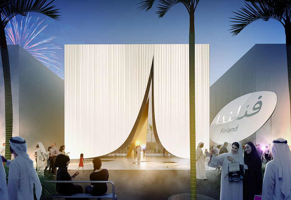 The Finland Pavilion will be located within Expo 2020 Dubai's Mobility District [image: Supplied]
