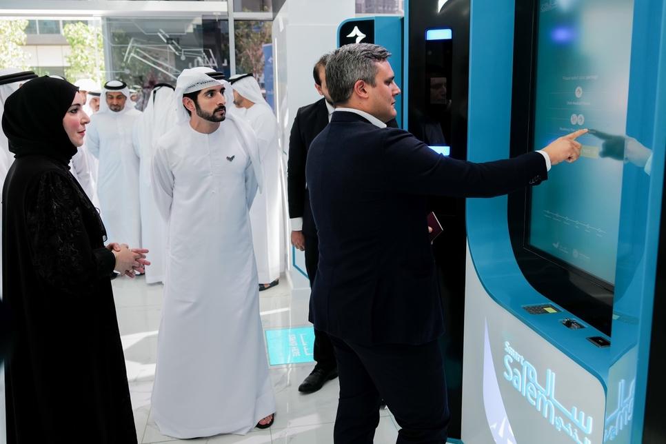 Dubai Crown Prince opens Salem medical fitness centre [Pictures courtesy: Wam]