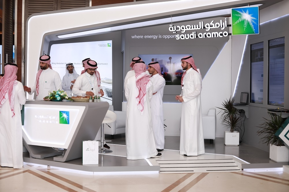Saudi Aramco's project engineer Eng Abdullah Al Seflan spoke at the Future Projects Forum (FPF).
