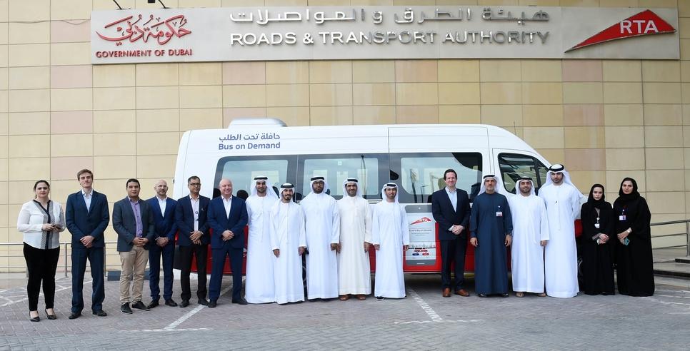 RTA launches on-demand bus service in several Dubai areas