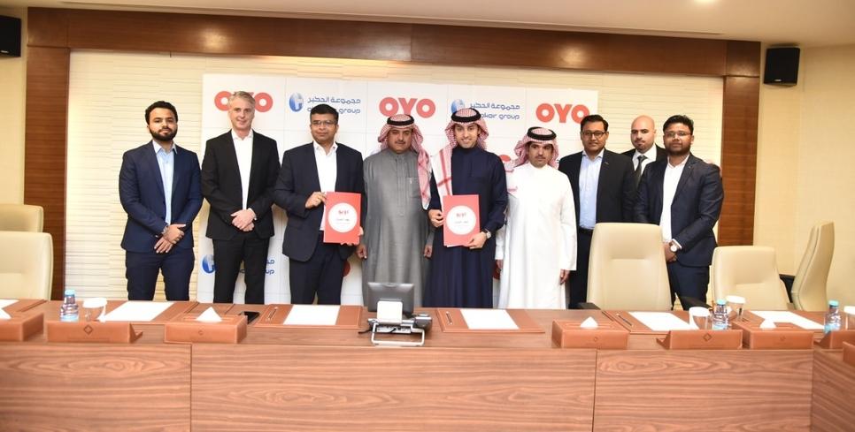 OYO partners with Saudi Arabia's Al-Hokair Group