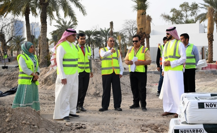 Bahrain ministry reveals 68% completion on Water Garden project