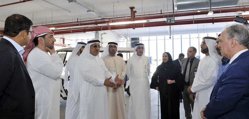DHA director-general inspects the Dubai Hospital expansion project