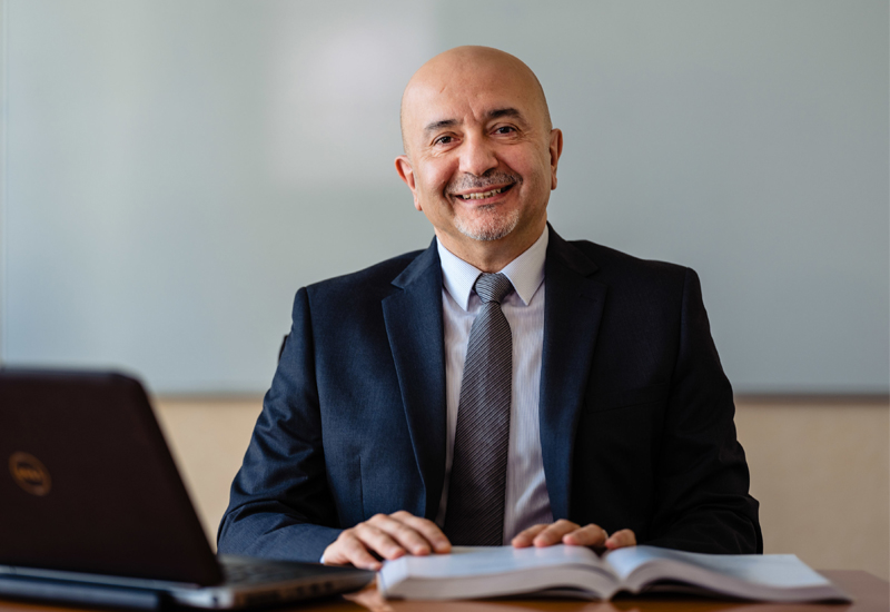 The University of Wollongong Dubai's Professor Khaled Hussain (pictured)