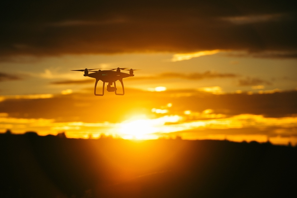 Dubai Police use drones to reinforce COVID-19 precautionary measures [representative image]