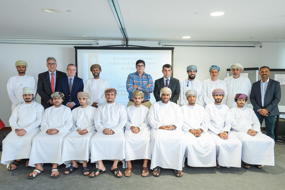Veolia, Sembcorp Salalah, Sohar Operation Services launch apprenticeship programme to boost Oman's water sector