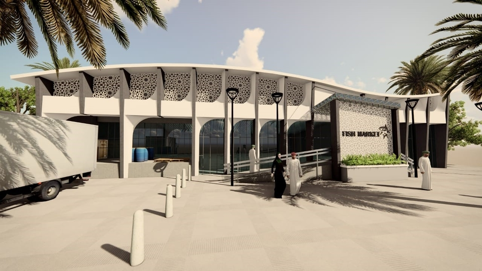 The fish market will cover an area spanning 930m2.