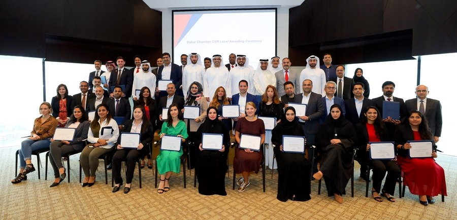 Dubai Chamber of Commerce and Industry awards CSR labels