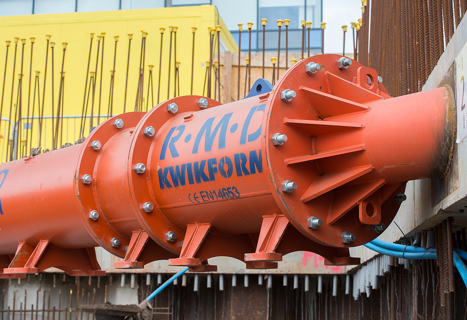 RMD Kwikform has introduced a number of product ranges, including Ground Shoring, Ascent, and Tetrashor.