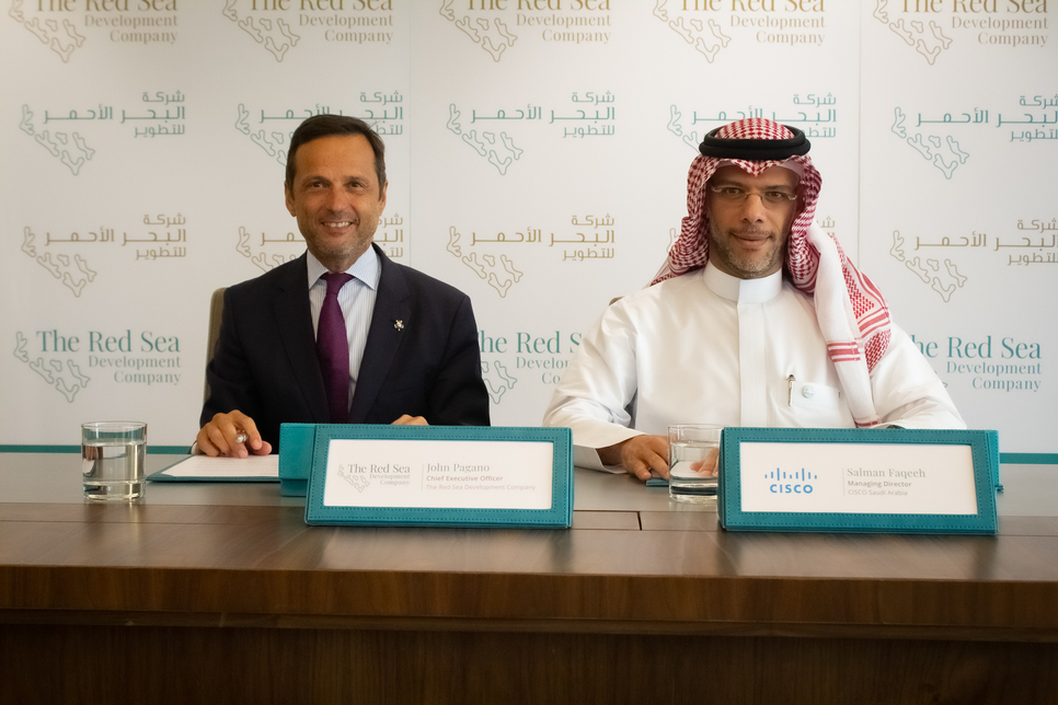The deal was signed on the sidelines of the Cisco Connect event in Riyadh.
