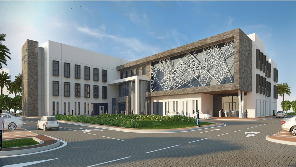 The hospital will be operational in 2022 [All images: Oman News Agency]