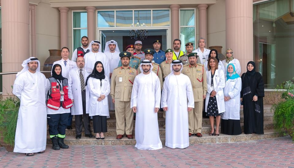 The Crown Prince of Dubai has met government entities as a result of the coronavirus outbreak
