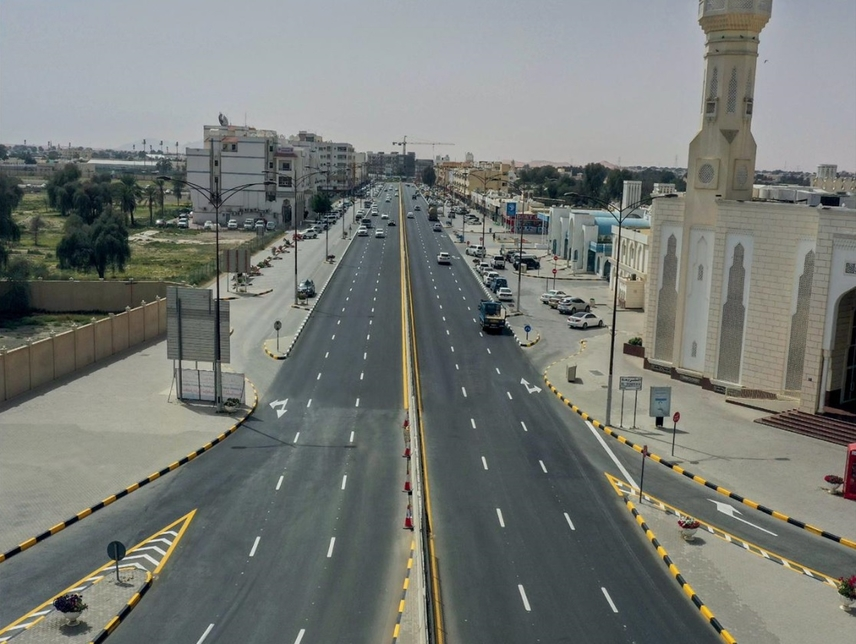Sharjah's SRTA completes $1.23m road improvement project in Al Dhaid