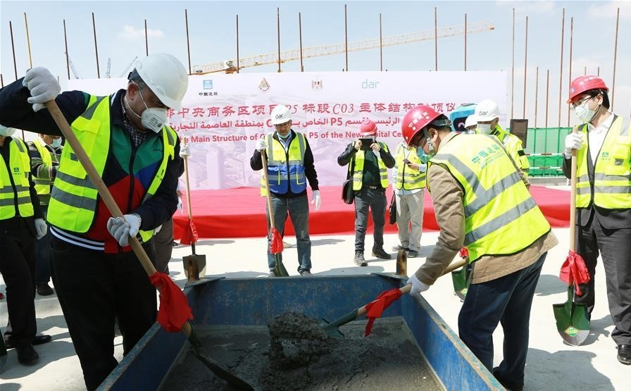 Scheduled to be delivered by 2022, the total construction area of the megaproject is 1.9km2 [All images: Xinhua]