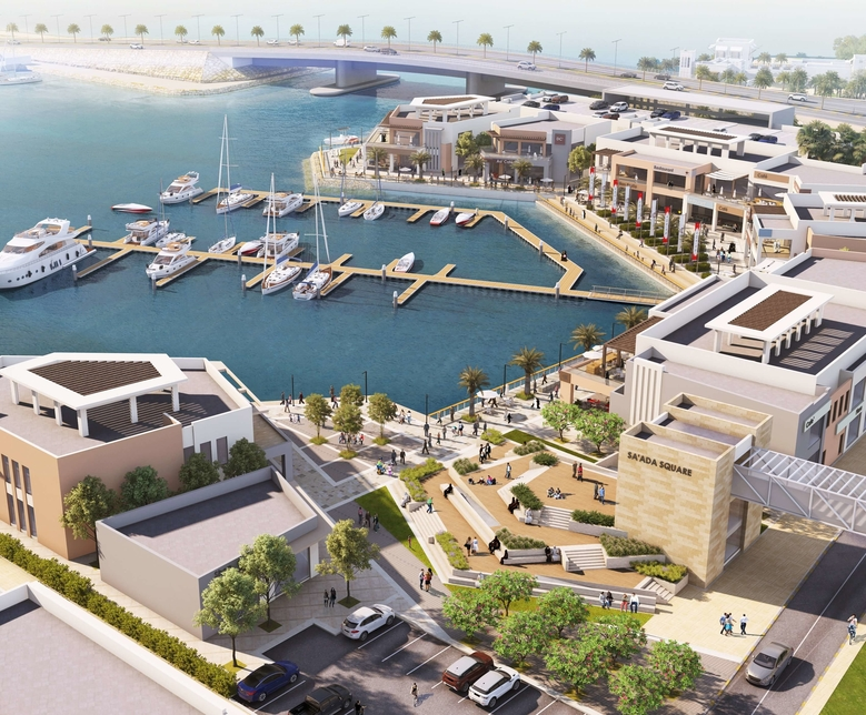 Edamah's Sa'ada features several F&B spaces