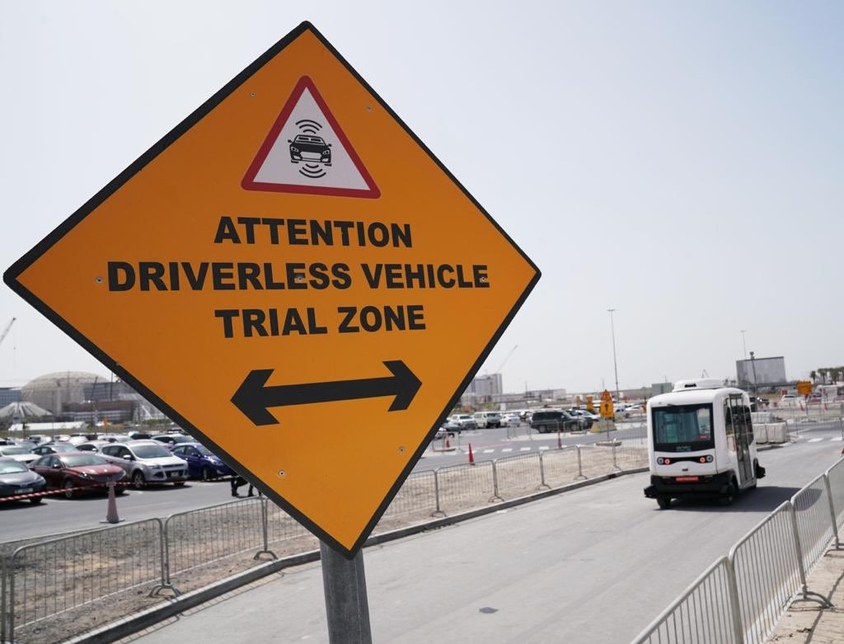 RTA begins trial run of autonomous vehicle at Expo 2020 Dubai site
