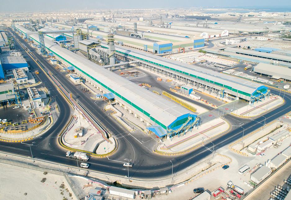 Alba, Ali Al Baqali, Aluminium Bahrain, Aluminium Bahrain (Alba), Line 6 Potline