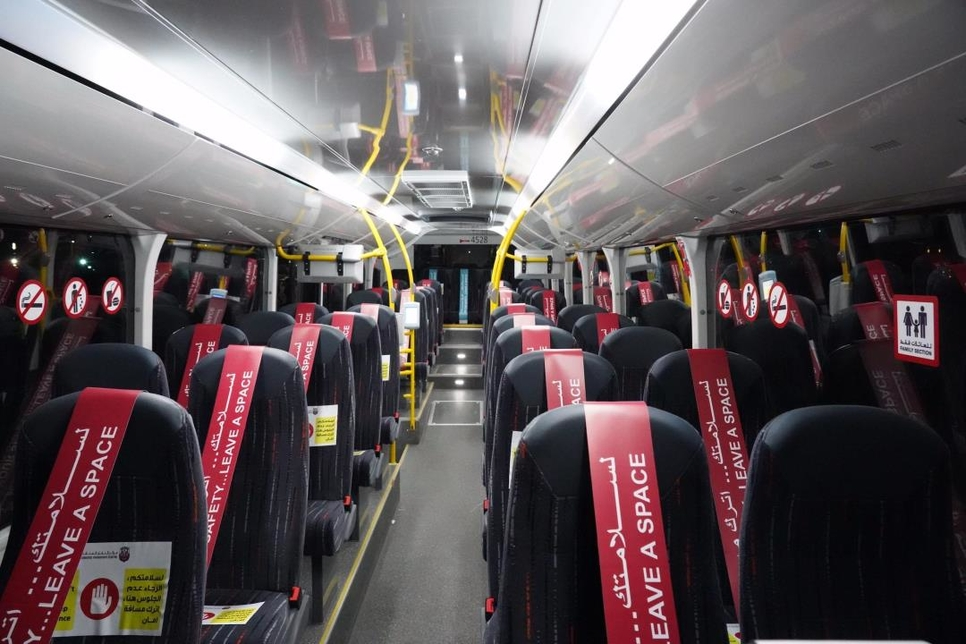Abu Dhabi's ITC has suspended buses over the weekend for sterilisation to combat COVID-19