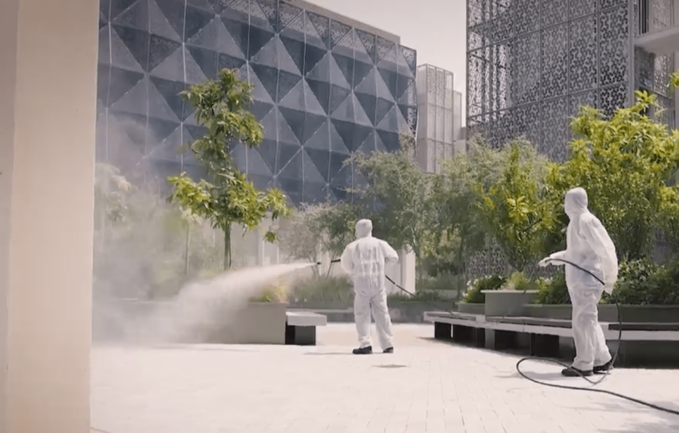 Expo 2020 Dubai employs 1,000 cleaning staff