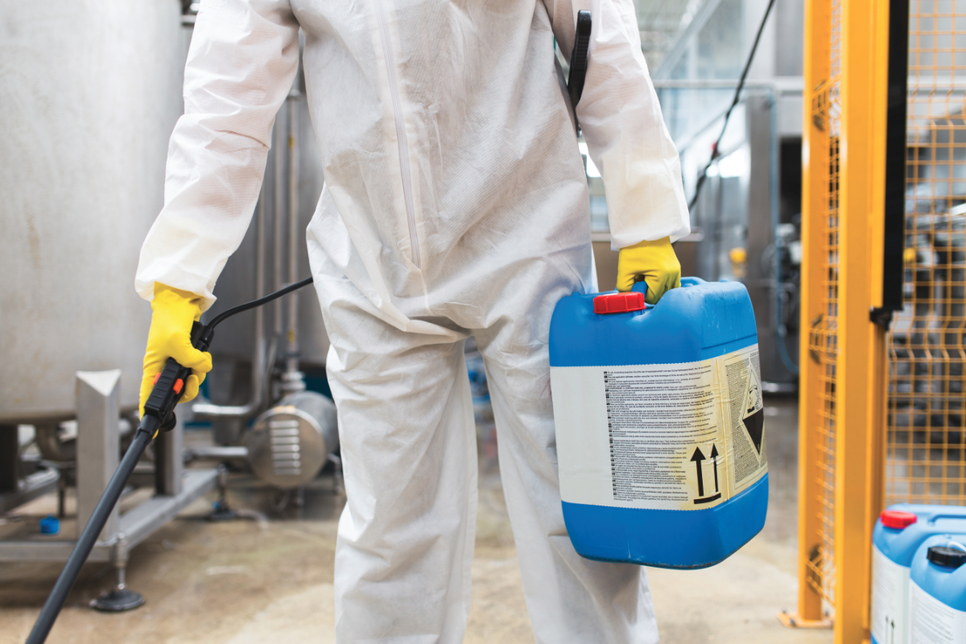 Empower disinfects 79 plants and customer service centres