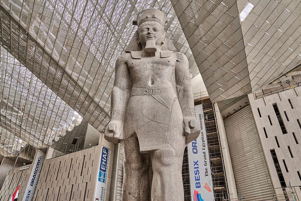 Orascom Construction is building the Grand Egyptian Museum alongside BESIX.