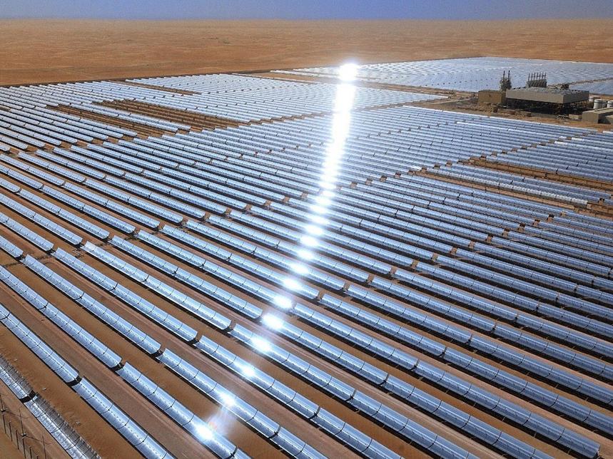 Abu Dhabi's 100MW Shams solar plant shaping UAE clean energy transition