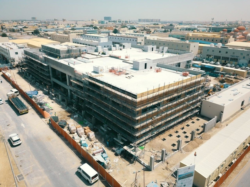 The court buildings are being built for the Abu Dhabi Judicial Department [All images: Wam]