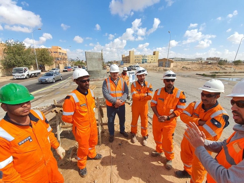 This will be Fugro's second large-scale project in Egypt
