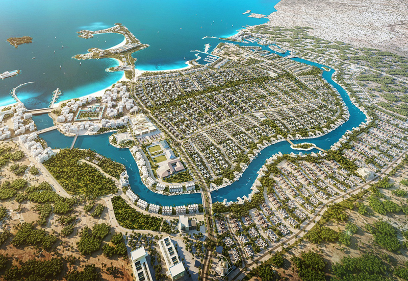 The construction contract for Al Dhabi Contracting LLC is worth $64.2m
