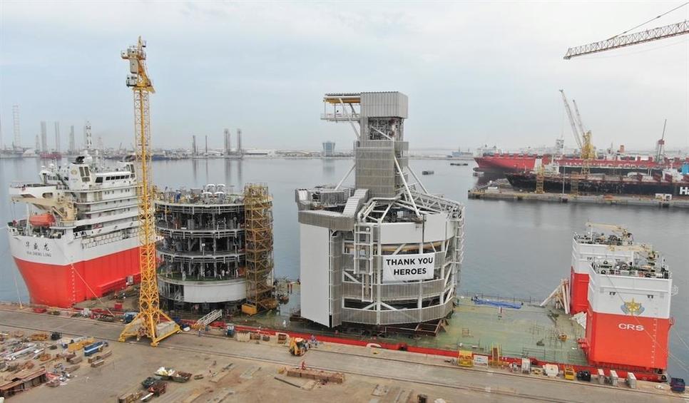 Drydocks World Dubai completes construction of 8000 tonnes project
