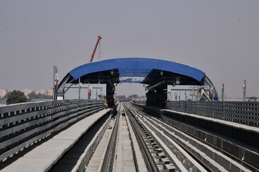 Cairo Metro Line 3 will connect Cairo city with Cairo International Airport.