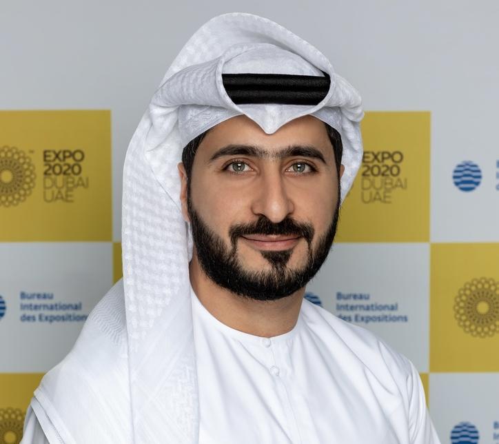 Mohamed AlAnsaari, vice president of communications at Expo 2020 Dubai