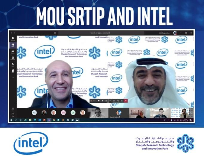 Sharjah's SRTI Park, Intel ink MoU to collaborate on future technologies