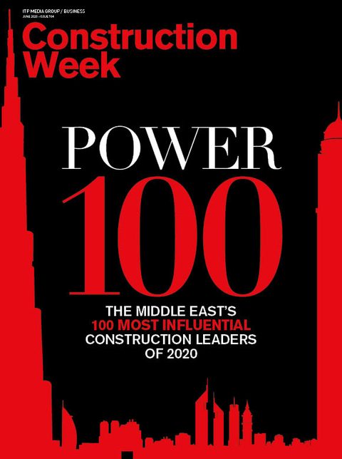 Construction Week's Power 100 list for 2020 is out
