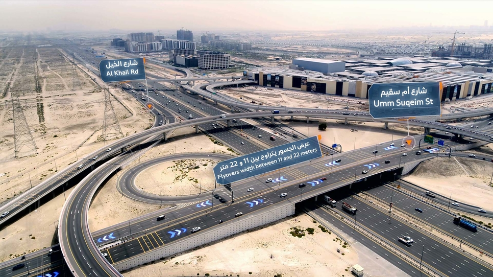 RTA said that the main bridge on Umm Suqeim Street opened on 30 May, 2020.
