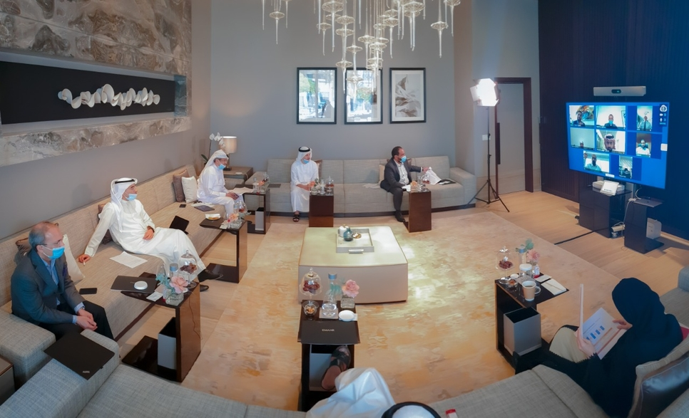 Emaar chairman Mohamed Alabbar calls on brokers to revive the real estate market