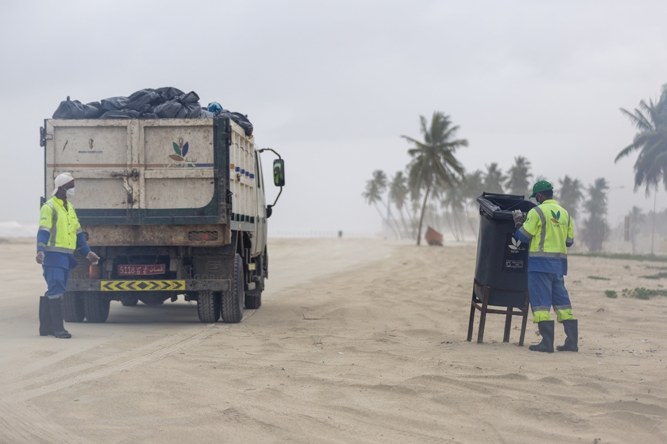 Be'ah clears 2,900 tons of municipal waste in Oman's Dhofar