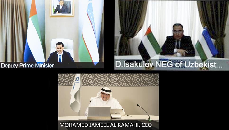 Masdar and Uzbekistan ink PPA deal to develop 500MW wind project