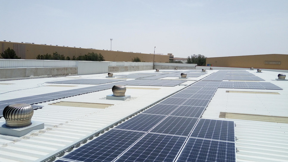 Sajan said by adopting to sustainable energy souces the company will save on its cost of electricity.