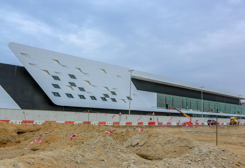 Construction on Al Qana's The National Aquarium has reached 90%